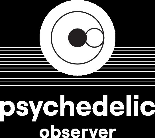 Psychedelic-observer-white-logo
